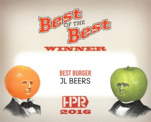 2016 HPR Best of the Best - Best Burger
