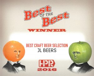 2016 HPR Best of the Best - Best Craft Beer Selection