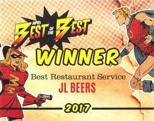 HPR Best of the Best Restaurant Service 2017