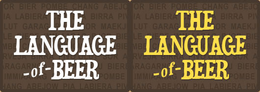 Language of Beer