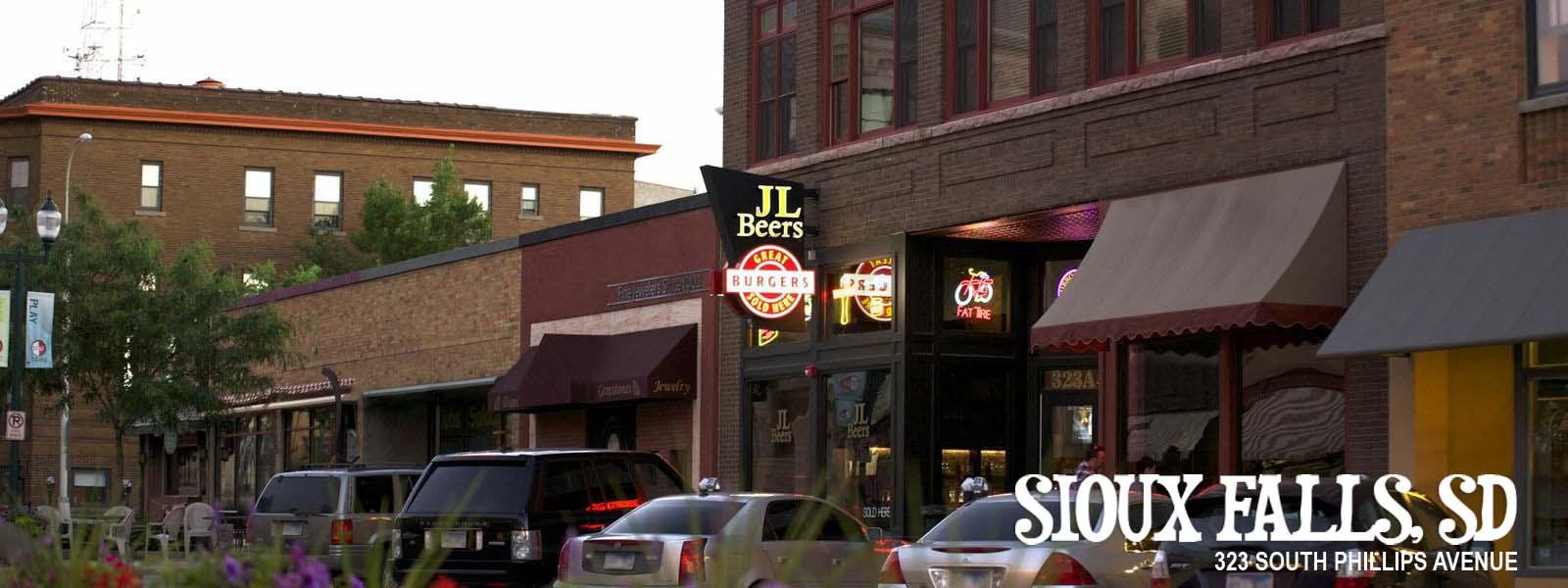 JL Beers - Great Burgers Sold Here